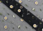 Daisy Multi Colored Lace Fabric For Flower Mesh Dress Customized Up to 12 Colors