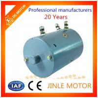 Electric Bicycle 2400 Rpm Dc Motor Carbon Brushed O.D 114MM F Insulation