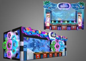China Promotional Fish Hunter Game Machine Huge Screen Shock Sound Entertainment With Reliability on sale