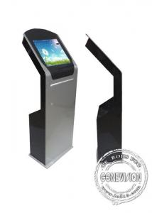 China Interactive kiosks touch screen 19 22 inch Android Windows OS display for info query with card sensor or thermal printer on sale