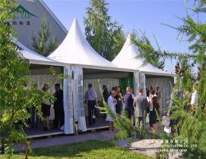 China 6mx6m Promotion Application  Aluminum Alloy Frame Pagoda Tent for Sale on sale