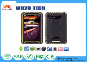 China RFID / NFC Reader Android 7 Inch Tablet Waterproof IP68 WRT07 on sale