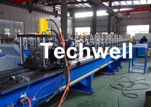 China Steel Structure Racking Roll Forming Machine For Shelf Rack Beam With Hydraulic Cutting TW-RACK on sale