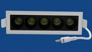 China 10.5W Multi Lamps Square Led Recessed Downlight Spot Housing , Led Ceiling Fixture on sale