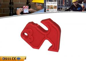 China Nylon Material Easy-to-use Circuit Breaker Lock , 33g Switch Breaker Lockout Device on sale