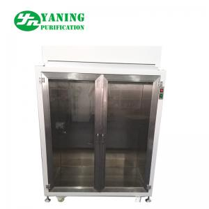 China Mini Laminar Flow Clothes Storage Cabinets With Doors , SS Clean Room Furniture on sale