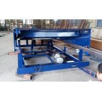 6m Movable pallet lift table 400mm lip length for loading bay / dock leveler / dock ramp