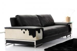 Quality Italian Luxury Leather Sofas Set For Office , Cowhide Leather Sofa  Sets For Sale ...
