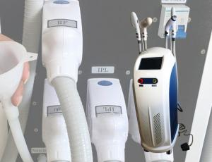 China Skin Rejuvenation IPL Laser Hair Removal Machine 2200W Power CE Certification on sale