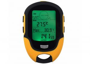 China FR500 Waterproof Digital Compass Altimeter LCD Digital Barometer Hygrometer Handheld Compass Weather Forecast on sale