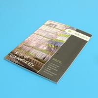 Film Lamination Commercial Printing Services , UV Coated Custom Printing Services