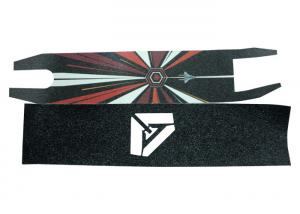 Quality Multi - Colors Skateboard Non Slip Tape With Porosity Of Sand SGS Certificate for sale