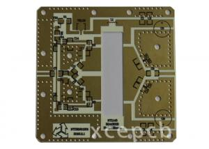 China Rogers 4003 4 Layer advanced fabrication pcb Used In Collision Avoidance Radar Systems on sale