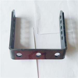 China Aluminum Panel Alloy Steel Sheet Metal Stamping Process for LED Housing Bracket on sale