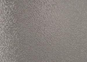 China Stucco Embossed Aluminum Coil For Freezer / Refrigerator 0.4mm Thickness on sale