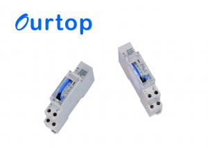 China Analogue Din Rail Mechanical Timer Switch Programmable 1 Channel Auto Control on sale