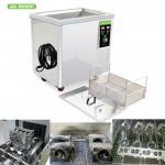Digital Timer Heater Adjustable Industrial Ultrasonic Cleaning Tanks 38l Metal