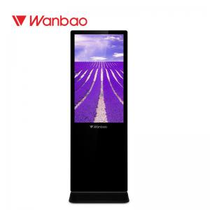 China 43 50 65 Inch Floor Standing LCD Advertising Player OEM Android Video Screen on sale