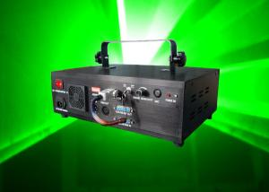 China 1W Green Disco Laser Lights With Animations , DMX512 24 Channels , DJ Light For Club on sale