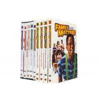 Family Matters Season 1-9 Complete Series DVD Movie TV Comedy Drama Series DVD