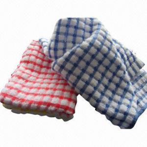 China 100% Cotton Yarn-dyed Towel, Check Pattern on sale