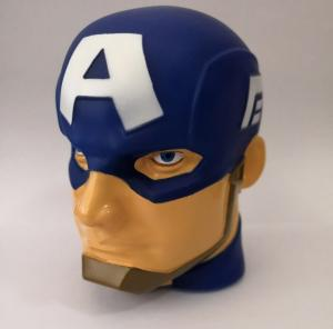 China 3D Marvel Captain America illumi-mate Colour Changing Light, Blue, 11 x 9 x 12cm on sale