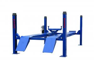 China Electric Four Post Hydraulic Auto Lift / Scissor Car Lift for Wheel Alignment on sale