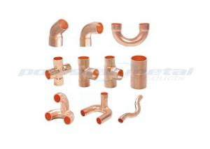 China Custom T2 Copper Pipe Fittings For Air Conditioner / Refrigeration Sweat Adaptor on sale