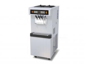 China 3 Phase Full Stainless Steel Frozen Yogurt Equipment, 3 Flavors Soft Serve Automatic Ice Cream Machine on sale