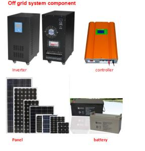 China 3000W Home Solar Heating SystemPhotovoltaic Battery Module Fit All Weathers supplier