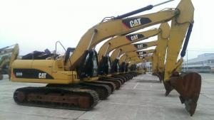 China 2012 320D ont employé la Sainte-Lucie hydraulique de la Bolivie Brésil Bonaire de bêcheur d'occasion de l'excavatrice 1.4m3 de chenille on sale