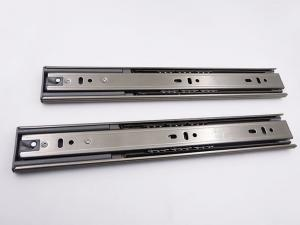 China High End Stainless Steel Full Extension Soft Close Ball Bearing Telescopic Drawer Slide on sale