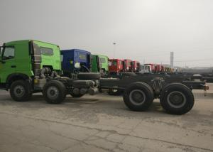 China 8*4 Sinotruk HOWO Heavy Dump Truck Chassis 371HP 9.726L Displacement on sale