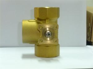 China Commercial Mini Motor Actuated Ball Valve Water Resistant For Mixing Water on sale