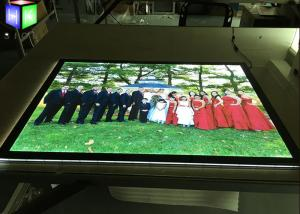 China Acrylic Advertising Poster Frame Light Box High Brightness 80000hrs Life Span on sale