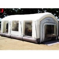Automotive Mini Outdoor Mobile Portable Car Inflatable Spray Paint Booth White Color