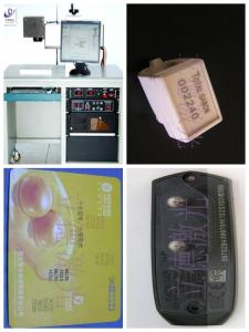 China Desktop Semiconductor Green Laser Marking Machine 532 Nm Laser Wavelength on sale
