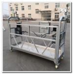 Galvanized steel 6 meters ZLP630 working platform gondola for cleaning