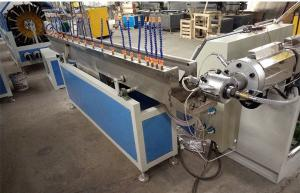 China High Output PVC Plastic Pipe Extrusion Line Single Screw Extruders on sale