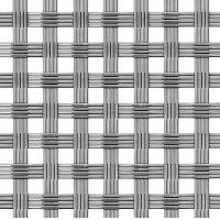 China 316 316L Steel Crimped Woven Wire Mesh Fence ISO9001 , DIA 0.5mm - 20mm on sale