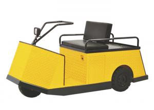 China 500kg Capacity Electric Tow Vehicles , Yellow Electric Cart 24V 210AH​ on sale