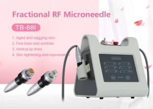 China Professional Skin Rejuvenation Face Lifting / Fractional Rf Microneedle Machine on sale