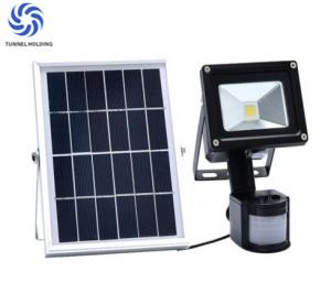 China PIR Passive Infrared Solar Powered LED Flood Lights For Architectural Lighting on sale