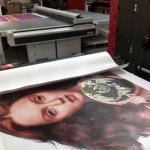 máquina de impressão solvente X8126ADE de 3.2m Eco