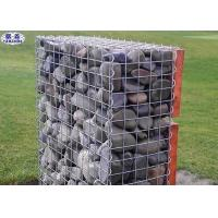 Stone Filled Gabion Wire Mesh Boxes Galvanized Welded Craft ISO Certification