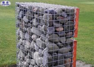 China Stone Filled Gabion Wire Mesh Boxes Galvanized Welded Craft ISO Certification on sale