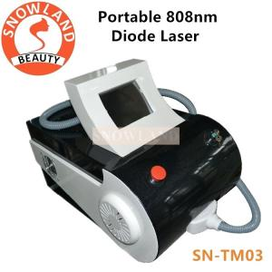 China 2018 portable diode laser 808nm / diode laser hair removal machine for sale / 808 diode laser on sale