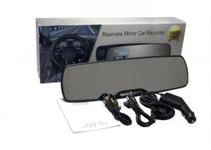 China 130W RGB Car Rear View Mirror DVR Button Control Night Vision Cycling Recording on sale