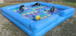 China Portable Inflatable Sports Games , indoor human twister board game on sale