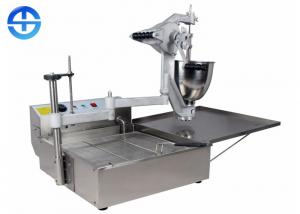 China 3 Molds Automatic Donut Making Machine / Donut Ball Maker Easy Operation on sale